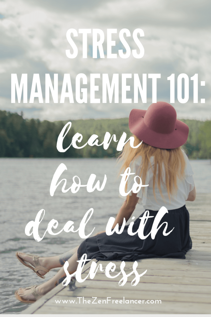 Stress management 101: Learn how to deal with stress and become more resilient! #stressmanagement #stressrelief #mentalhealth #burnout #handlestress #stressresilience