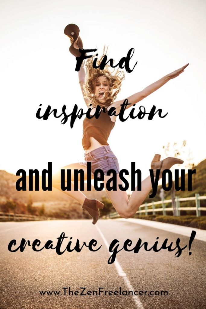 Find Inspiration and Unleash Your Creative Genius! Check out these ideas on how to find inspiration day after day. #findinspiration #getinspired #inspirationaldeas #inspiringideas #creativegenius