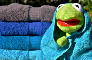 """""""A towel is the most massively useful thing in the universe"""" ~ Ford Prefect"""
