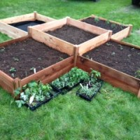 Raised Garden Beds (Made from prefab kits)