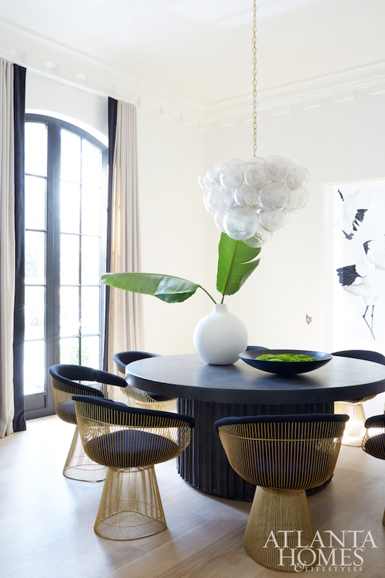black and white interior design inspiration