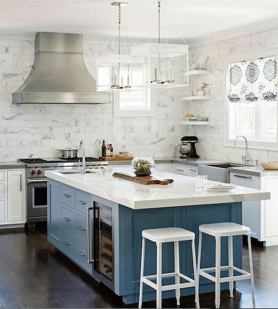 a beautiful white bay area homes kitchen