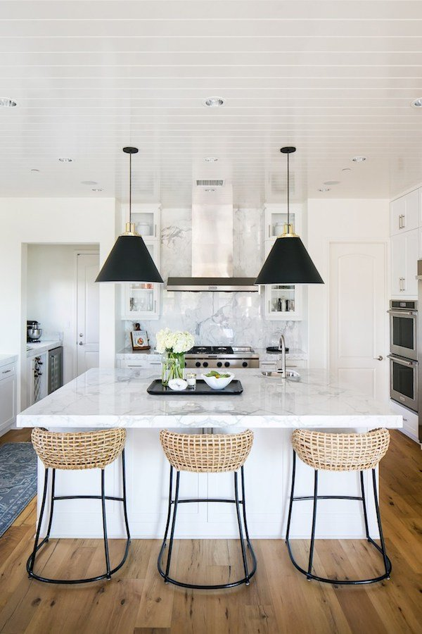 classic modern coastal kitchen