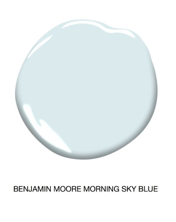 a great light blue ceiling paint blue color swatch