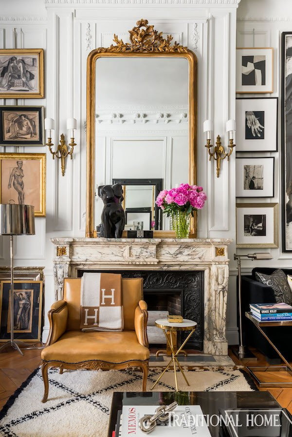 Parisian home decor inspiration