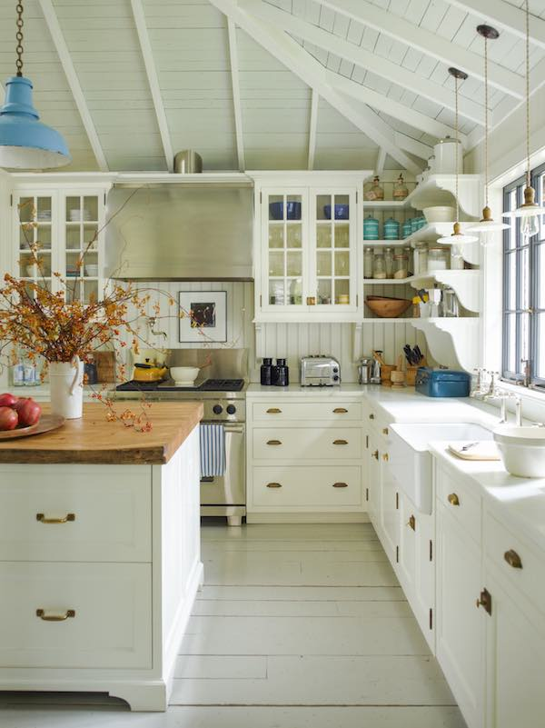 G.P.Schafer Architecture and Design white traditional kitchen