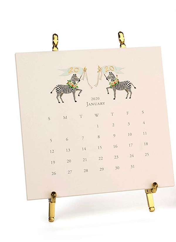 Karen Adams 2020 Desk Top Calendar
