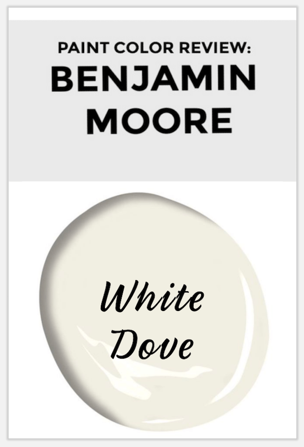 white dove paint swatch to pin