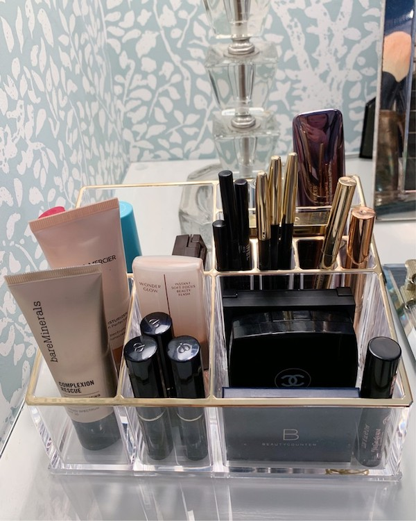 unique storage ideas for your makeup and beauty products