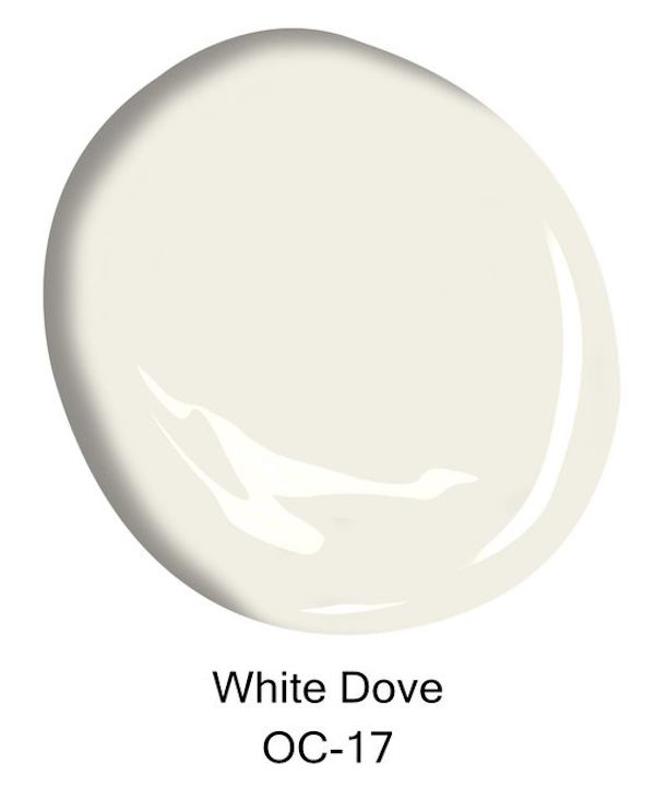 White Dove paint sample