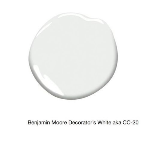 Decorator's White paint sample