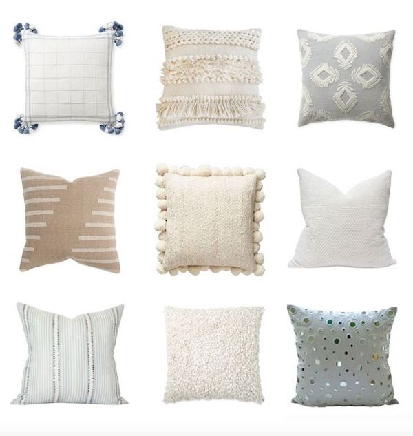 throw pillow picks collage