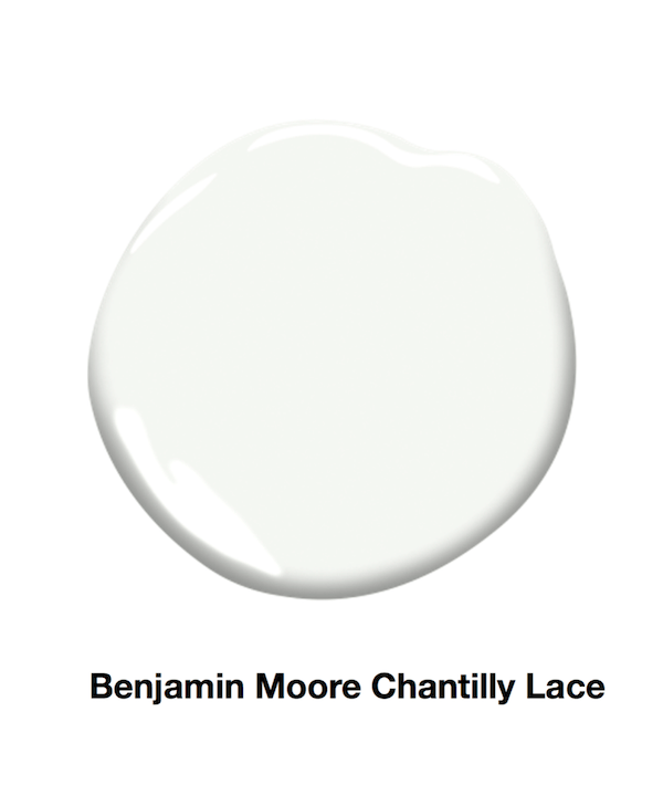 Chantilly Lace paint sample
