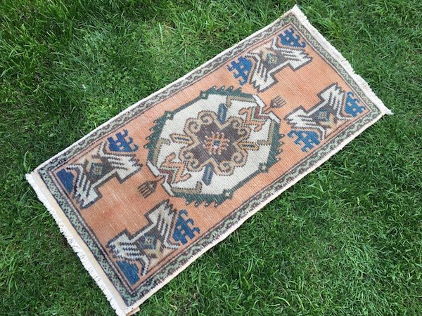 vintage Turkish rug for the home from Etsy