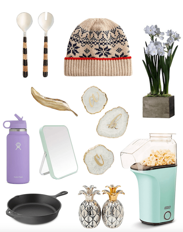 collage of the best gifts under $50.