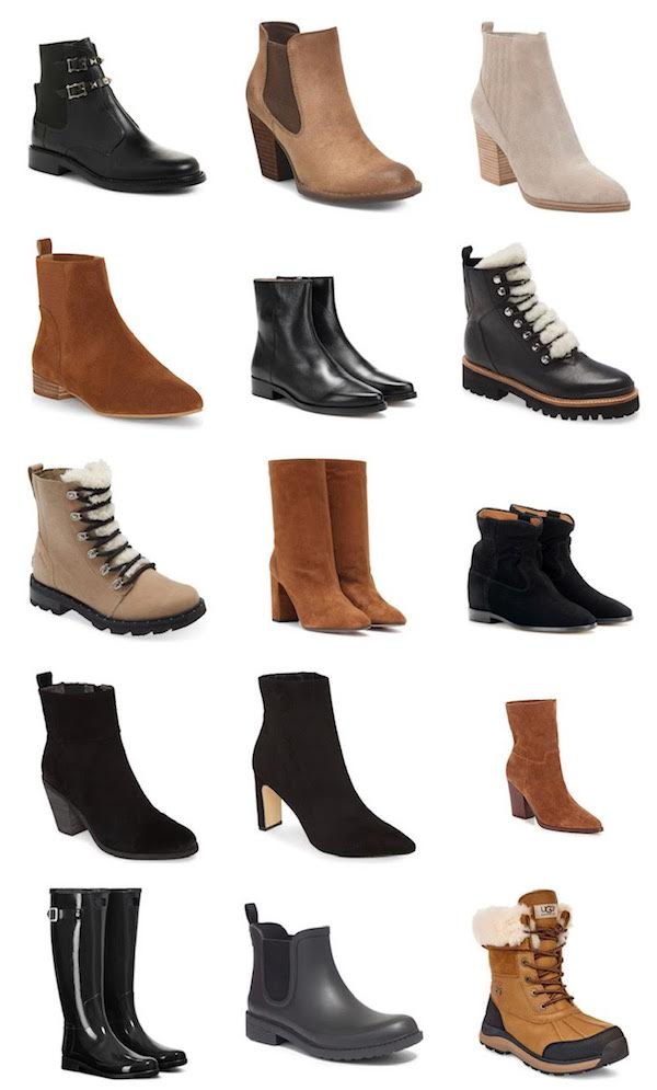 collage of the best boots to buy right now