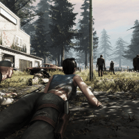 Your first day out scavenging in the Zombie world