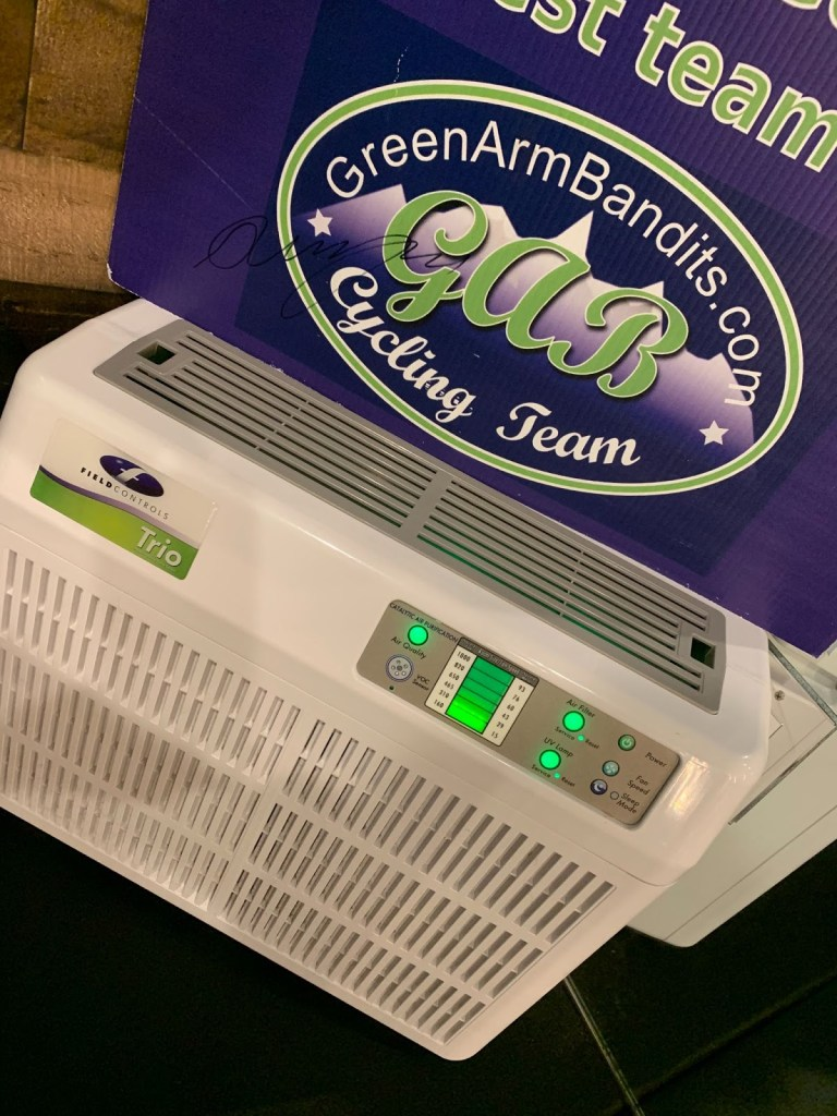 Air purifier improves poor indoor air quality