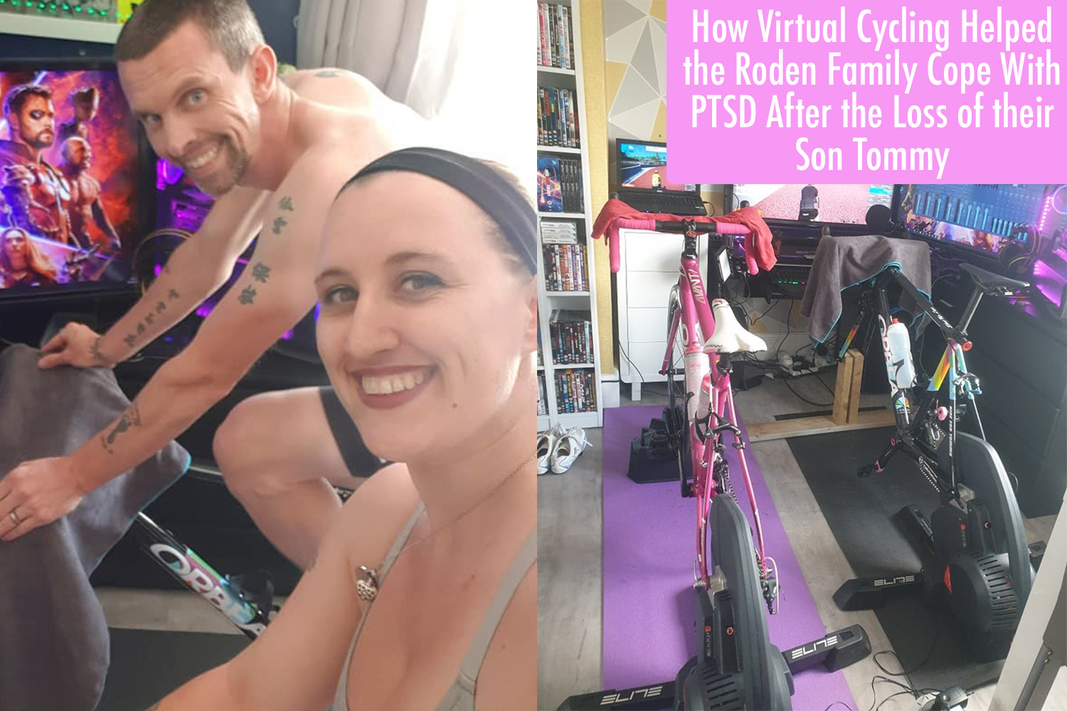 Johnny and Becki Roden Share Virtual Cycling to Cope With the Loss of their Son Tommy
