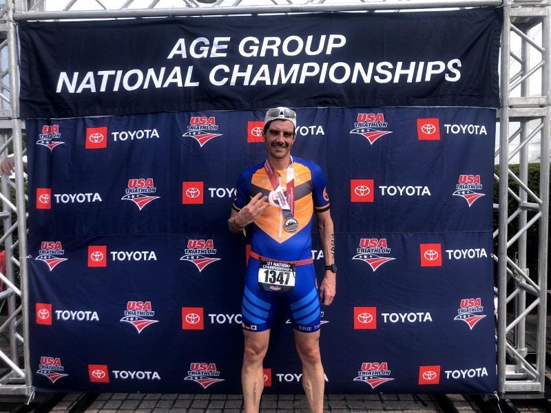 DIRT Andrew Holland Wins the USA Triathlon Age Group National Championship