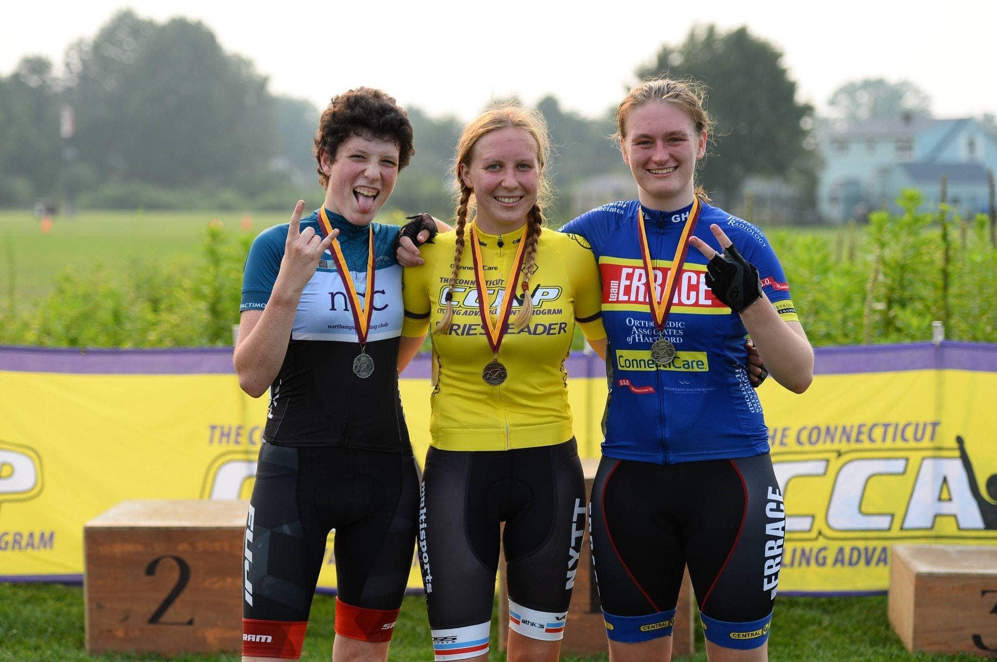 female junior racers