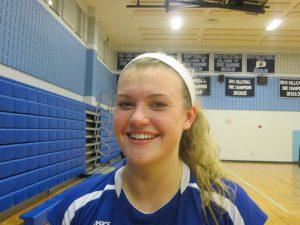Seymour volleyball Jessica Litwa