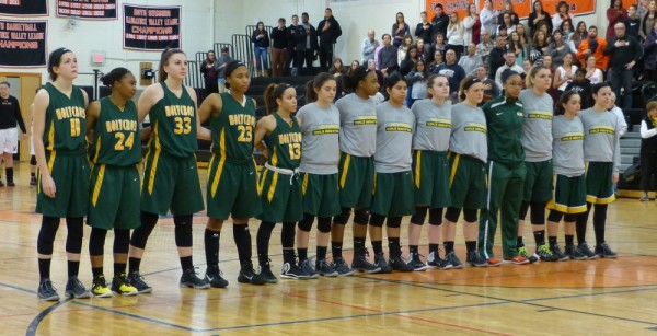 Holy Cross girls basketball
