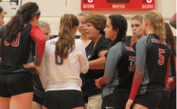 Cheshire volleyball (Roger Cleaveland/RA)