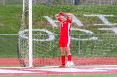 Pomperaug goalkeeper Caitlin Murphy. (RA)
