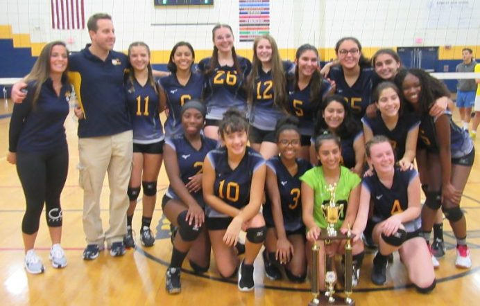 Kennedy wins NVL volleyball championship