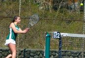 Holy Cross girls tennis - Delia Murphy 1