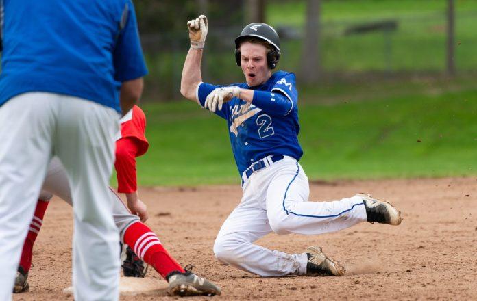 Highlanders Keep Pace With Shepaug In BL Baseball