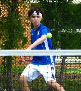 Litchfield boys tennis - Class S - Noah Parilla