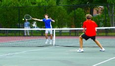 Litchfield boys tennis - Class S - Spencer Sivilla