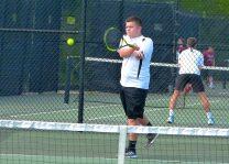 Woodland boys tennis - Austin Roberts 1