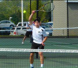 Woodland boys tennis - Dante Polletta 2