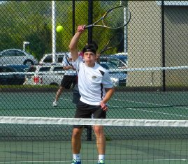 Woodland boys tennis - Dante Polletta 2