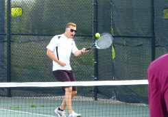 Woodland boys tennis - Jeff Varesio 3