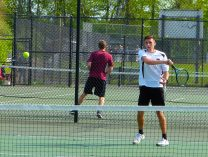 Woodland boys tennis - Nick Hudson 1