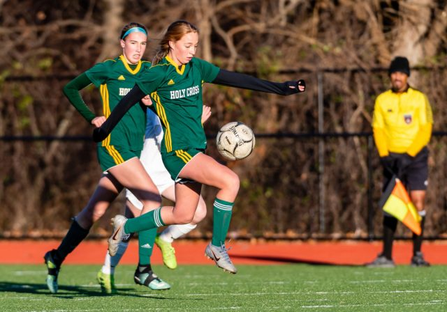 Holy Cross girls soccer sails into semifinals