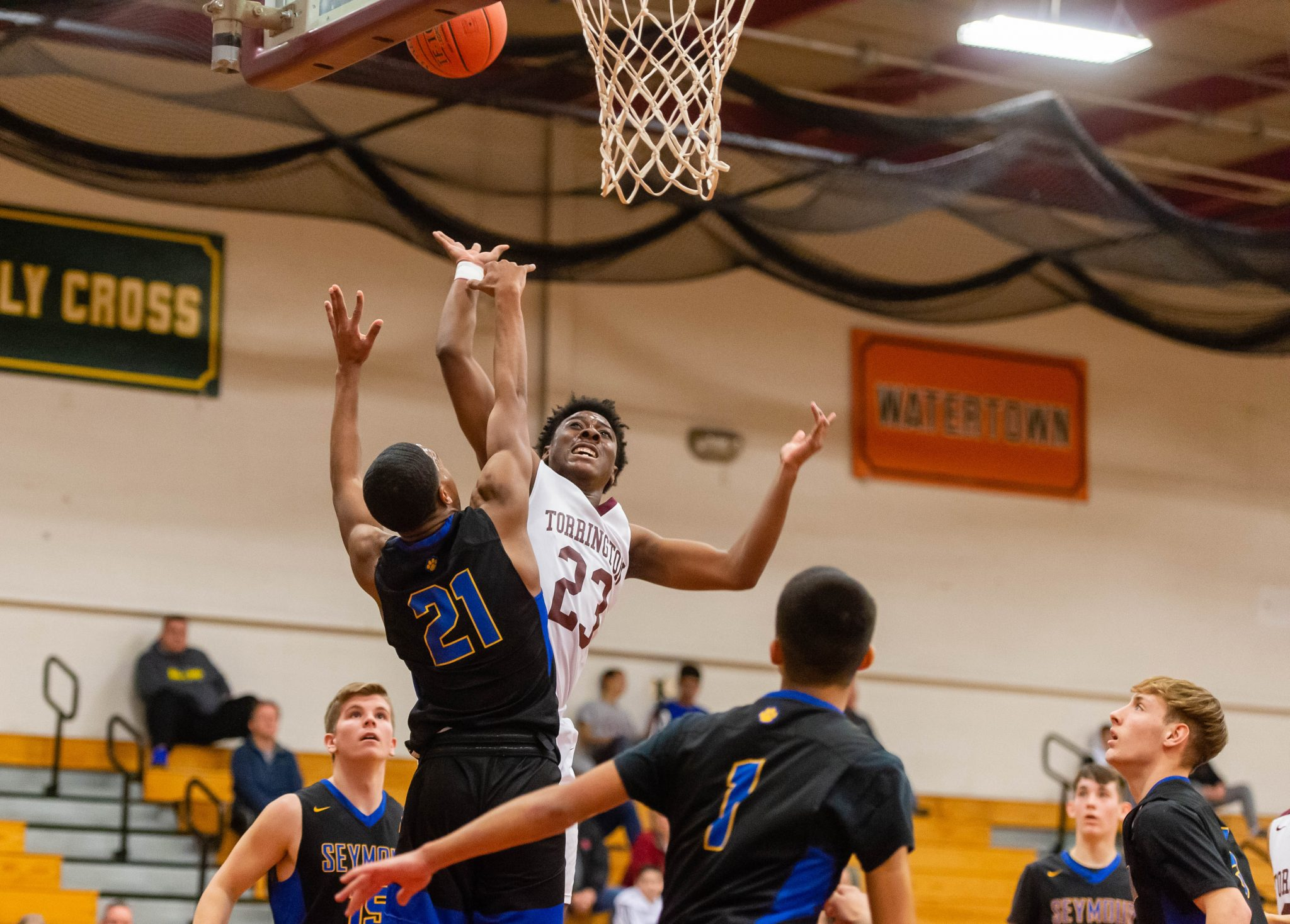 video torrington boys beat seymour for first win the zones. Black Bedroom Furniture Sets. Home Design Ideas