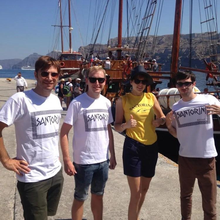 The Zoots in Santorini
