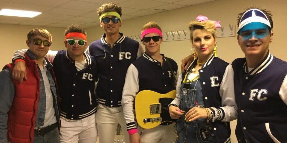80s tribute show