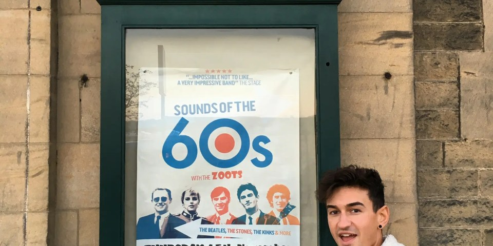 60s show in Ilkley, 60s tribute band