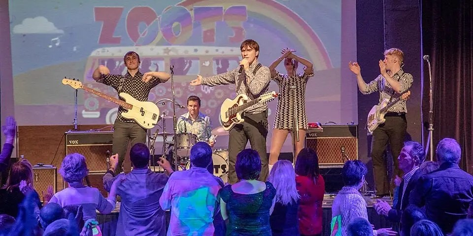 The Zoots Sounds of the 60s tribute show