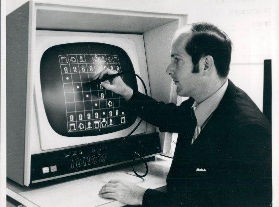 ajedrez fotografía antigua