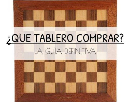 Qué tablero de ajedrez comprar