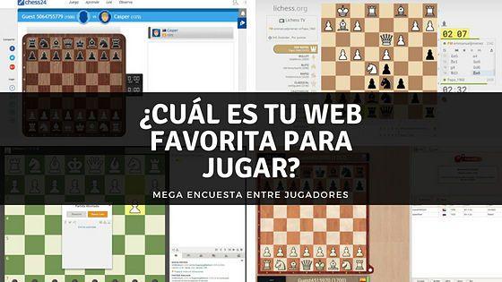 ajedrez en línea mejor web