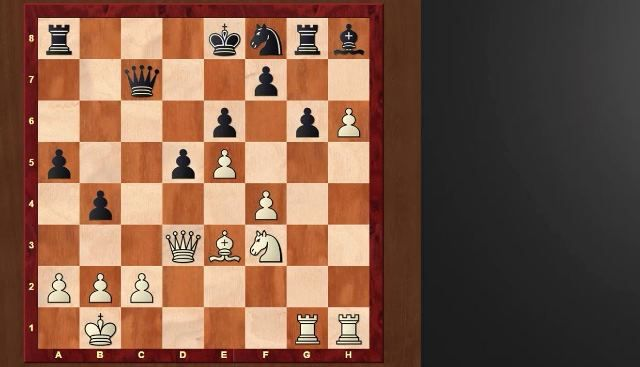 reconocimiento de patrones en ajedrez
