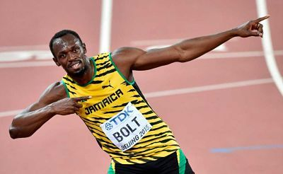 Usain Bolt progreso